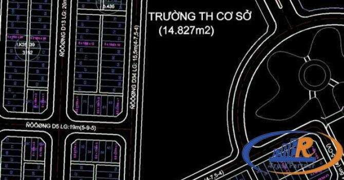 Bán Cặp nền Có Hẻm kT bên Hông 4m đường D16 KDC Hông Loan