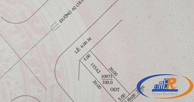 Bán nền 135A2 kdc Phú An dt 100m2
