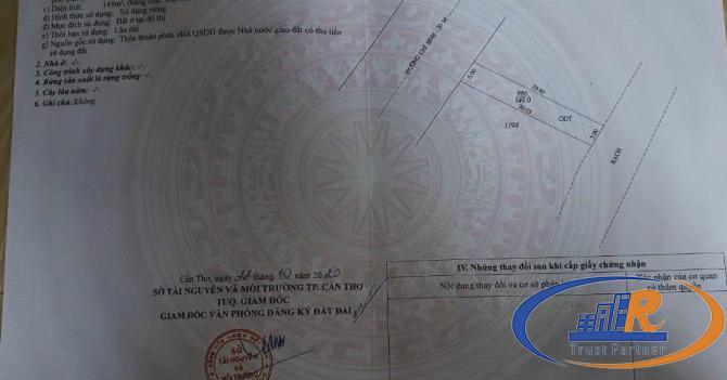 Bán nền cặp tuyệt đẹp mặt tiền đường Chí Sinh, P. Tân Phú – 10M X 30M – GIÁ 2,9 TỶ - Lh 0939 680 23