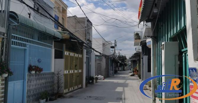 Nền thổ cư 100% Sau Lưng Công An Quận Ninh Kiều.  ¶ Hẻm Thông qua đường Võ Trường Toản